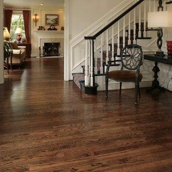 Photo 5 Of 9 Photos Coffee Brown Stained Red Oak Modern