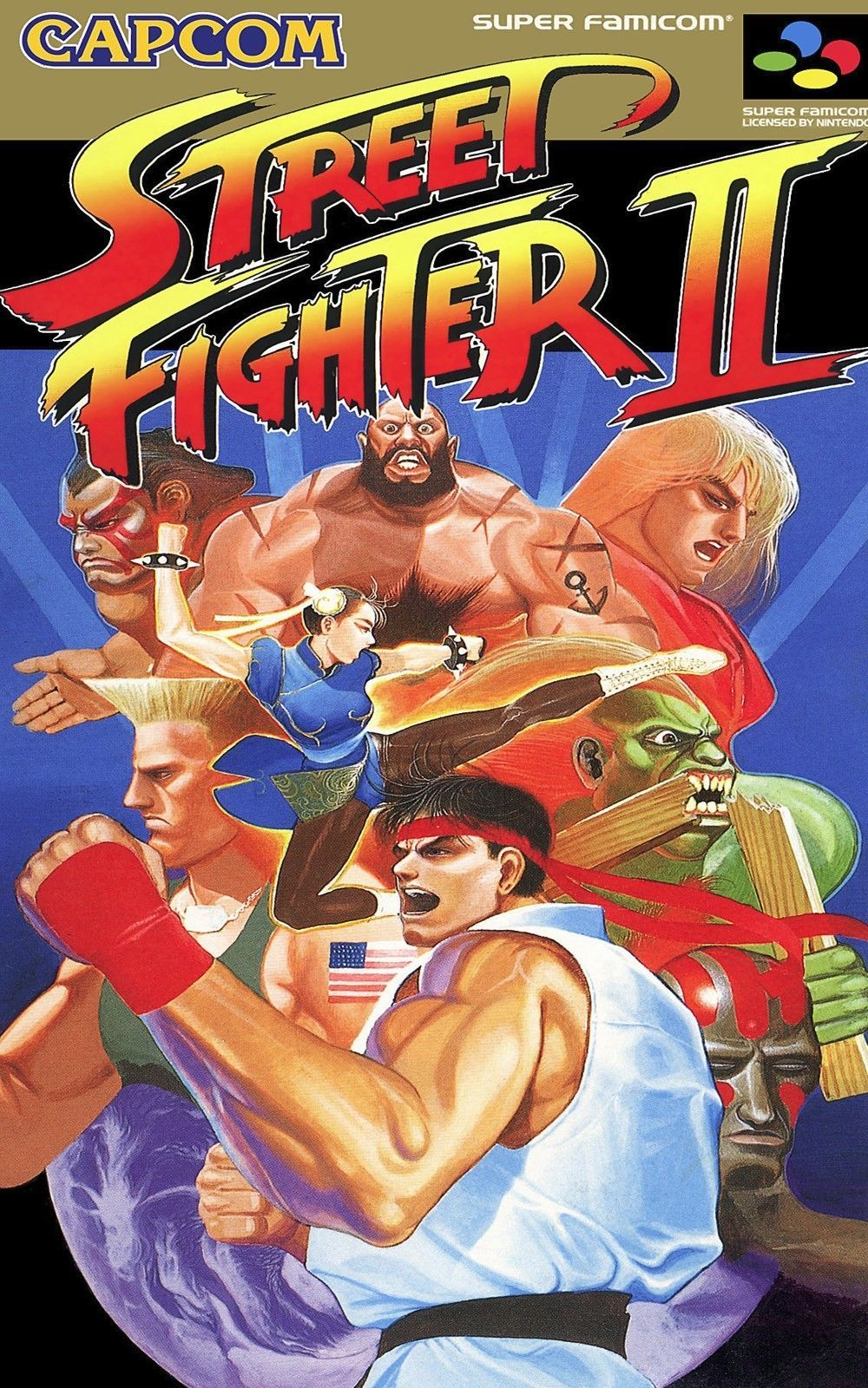 2695c178d4d  13.45 - Street Fighter 2 Classic - Wall Poster 24 In X 15 In - Fast  Shipping  ebay  Collectibles