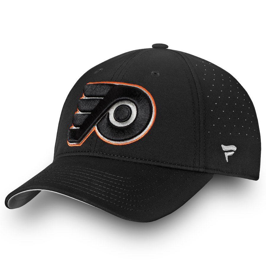 sports shoes 432de facbe Men s Philadelphia Flyers Fanatics Branded Black Authentic Pro Clutch  Fundamental Adjustable Hat, Your Price
