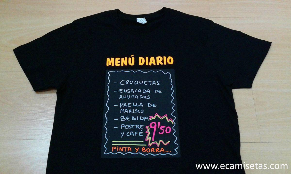 b7f5854c75d Camisetas baratas. Camisetas personalizadas. Camisetas originales. Camisetas  pizarra. Camisetas pizarra niños. camisetas restaurante. Camisetas  restaurante