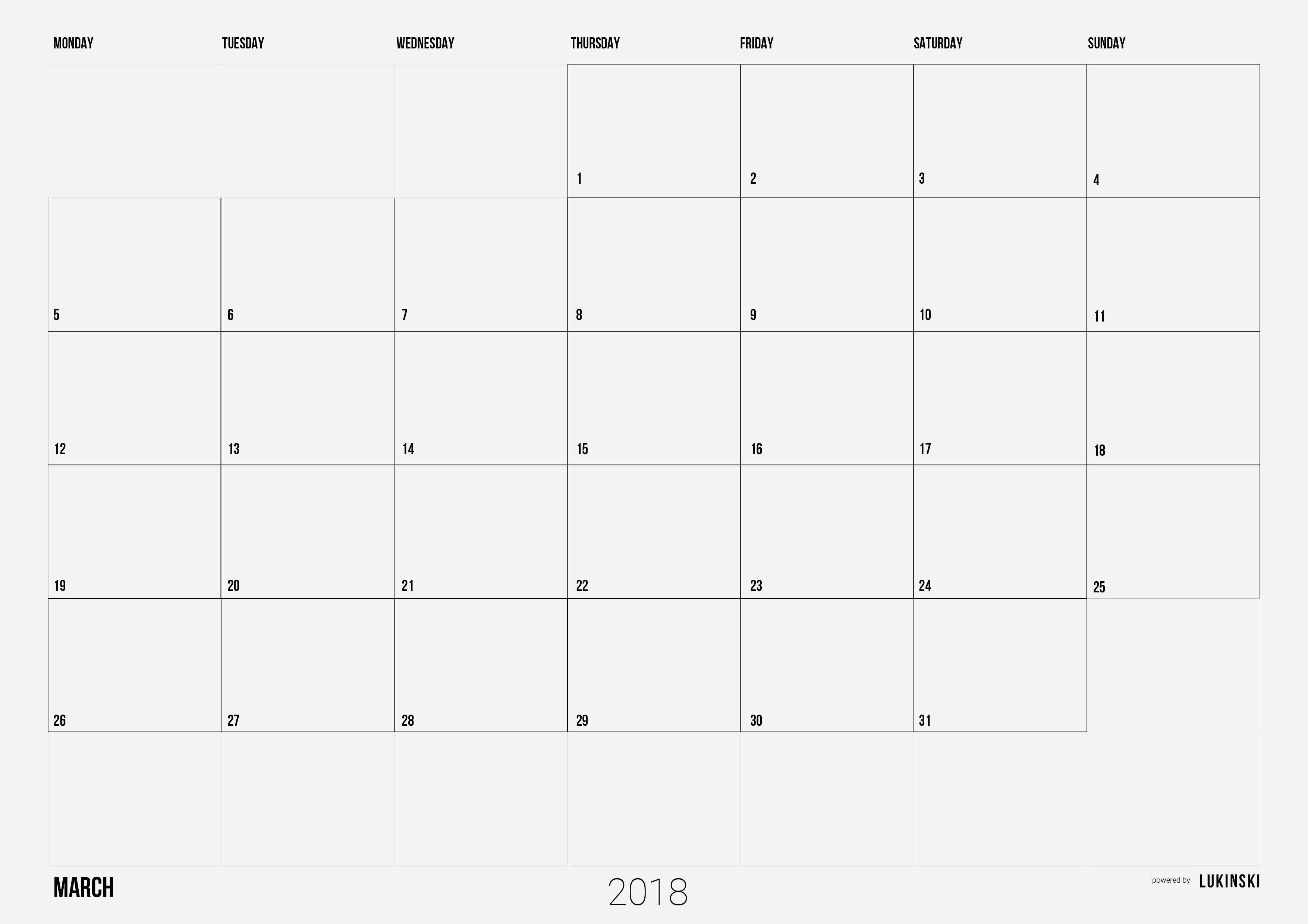 Adobe Photoshop Calendar Template Check More At Https