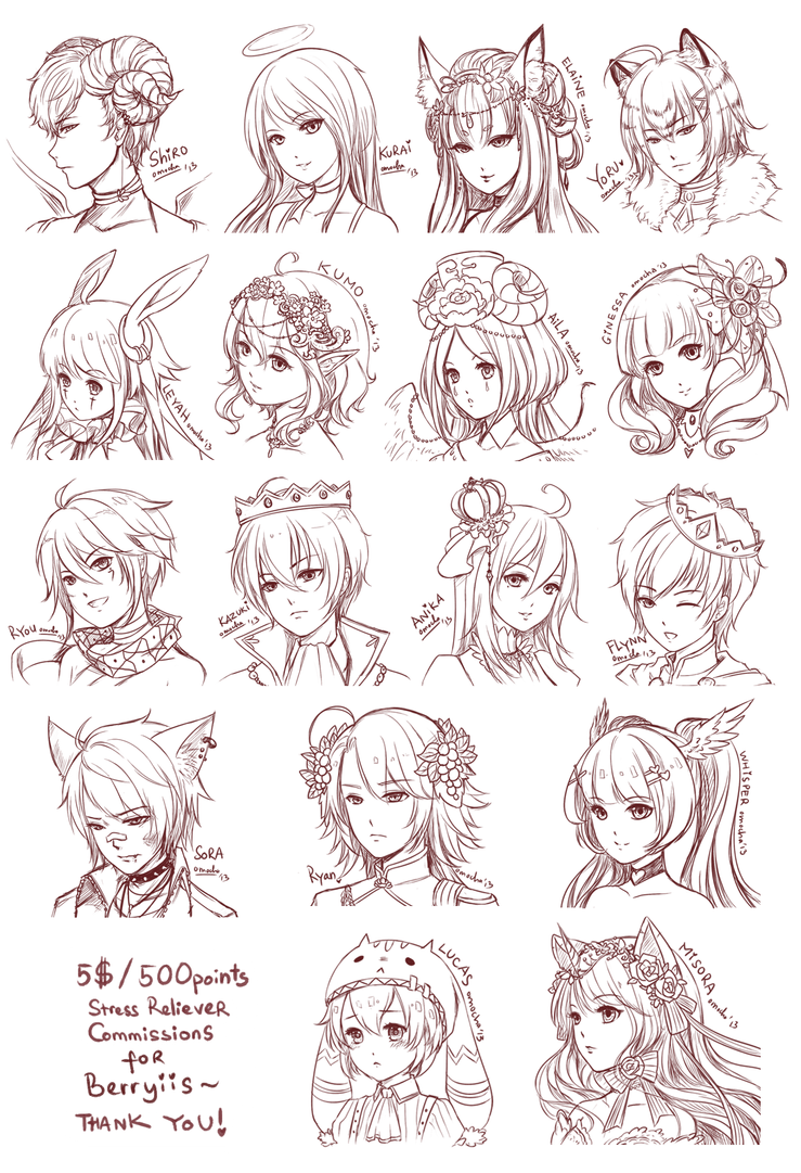 Src Batch11 Berryiis S By Zenithomocha On Deviantart Manga Hair Anime Hairstyles Male Anime Hair