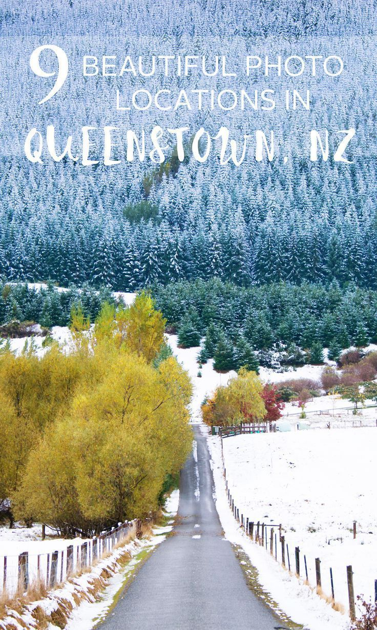 9 of the most beautiful photo locations in Queenstown, New Zealand - Read the full location guide here -  www.thewanderingl...