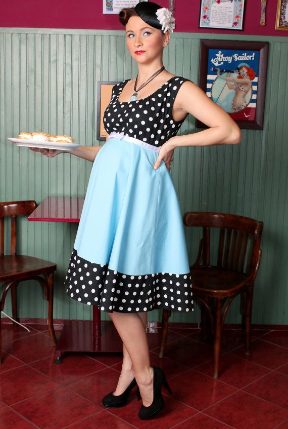 Nikki maternity dress By TiCCi Rockabilly Clothing | Rockabilly ...