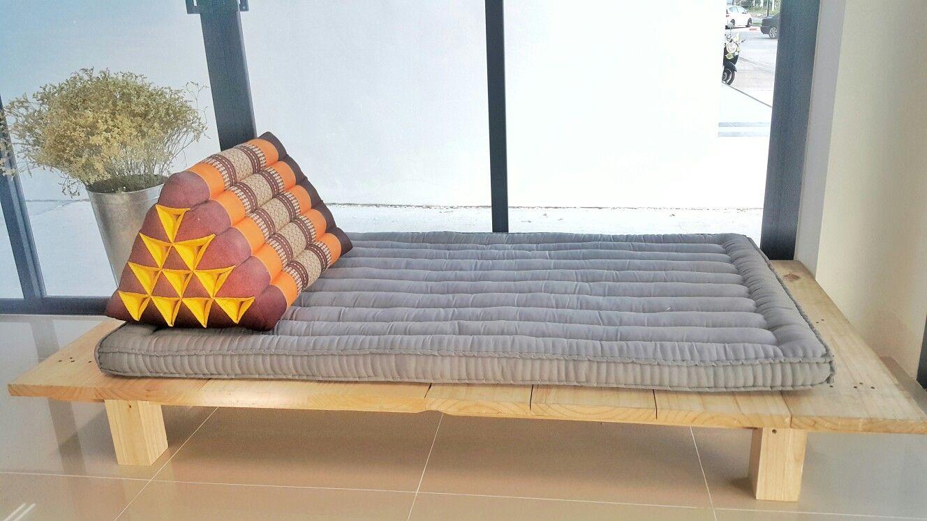 ท นอนเพ อส ขภาพ ว ถ ไทย ธรรมชาต ร กษ ส งแวดล อม Authentic Thai Futon Bed
