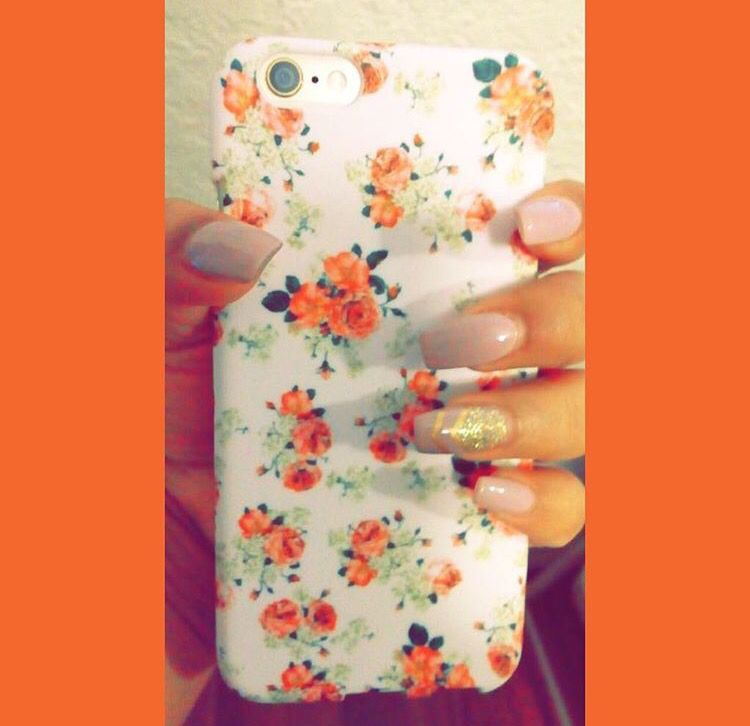 iPhone case floral