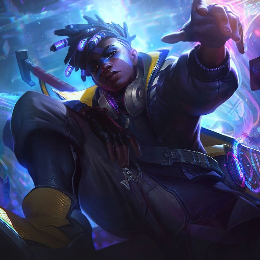 13 2k Likes 231 Comments Anninosart Anninosart On Instagram He S Been Announced And The True Damage Lol League Of Legends League Of Legends Characters 4k hd ekko true damage wallpaper