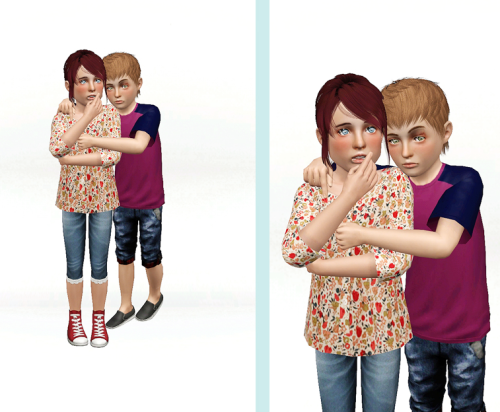 sims3 child poses | Tumblr