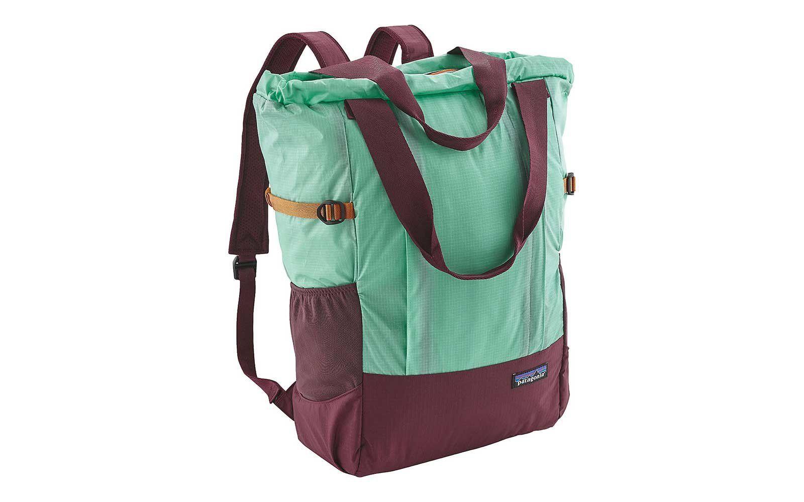 Patagonia Lightweight Travel Tote Bag Big Sur Blue