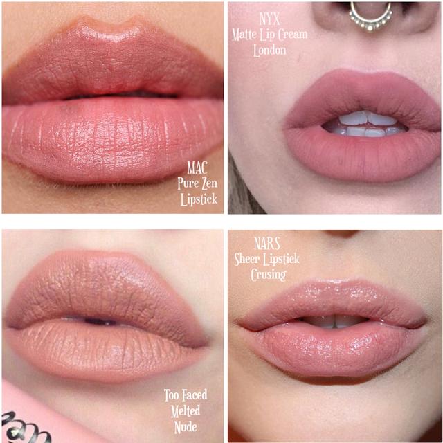 Bien-aimé Best Nude Lipsticks - The Best Nude Lipsticks   Makeup   Pinterest  OK15