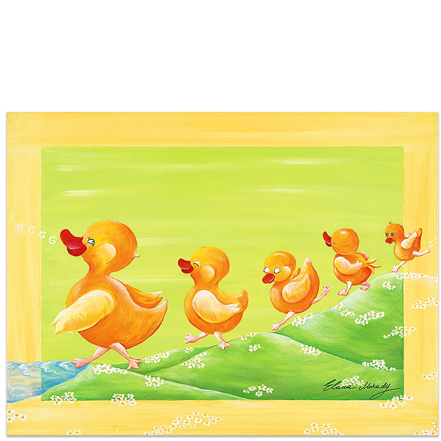 Duckling Family, Canvas Wall Art   Products   Pinterest   Family ...