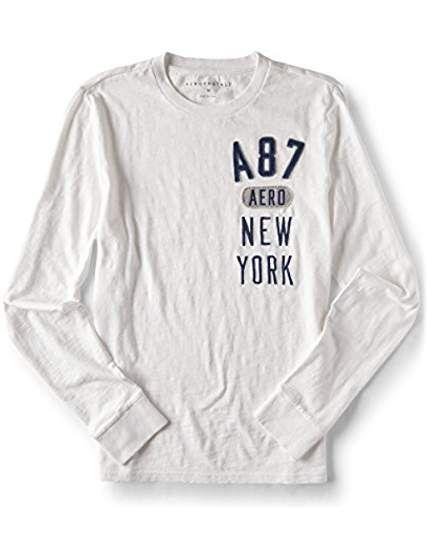 77767adbe Long Sleeve A87 Aero New York Graphic Tee | Story | Sleeves, Mens ...