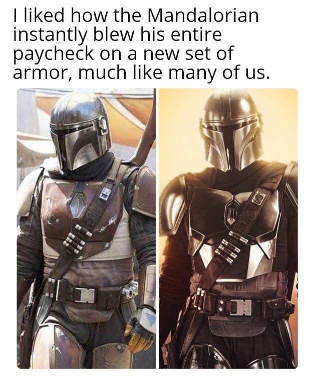 The Mandalorian Star Wars Star Wars Mandalorian Ideas Of Star Wars Mandalorian Starwars Mandalor Funny Star Wars Memes Star Wars Humor Star Wars Fandom