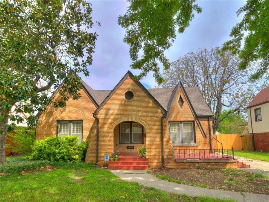 1936 Tudor Revival Oklahoma City Ok 159 800 Old House Dreams Old House Dreams Beautiful Homes House