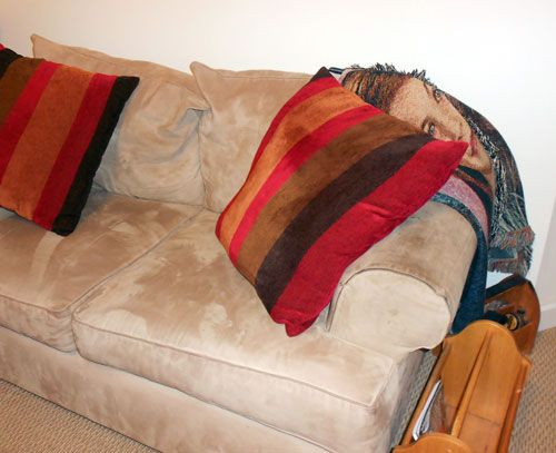 Diy Home Made Slippery Sofa Fix Couch Cushions Slipping Home
