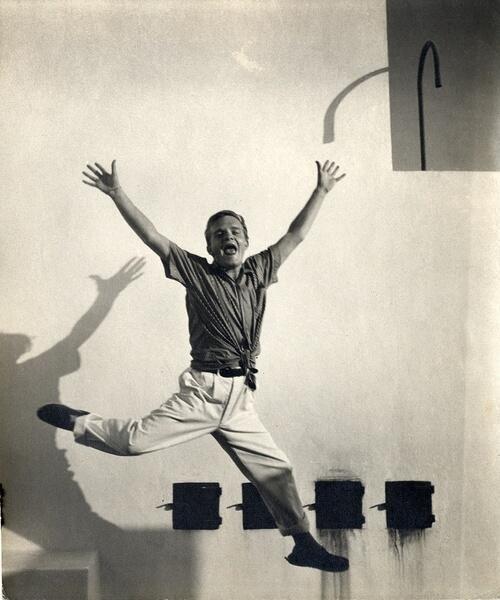 Truman Capote in Morocco, 1949.
