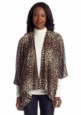 Steve Madden  Animal Print Topper