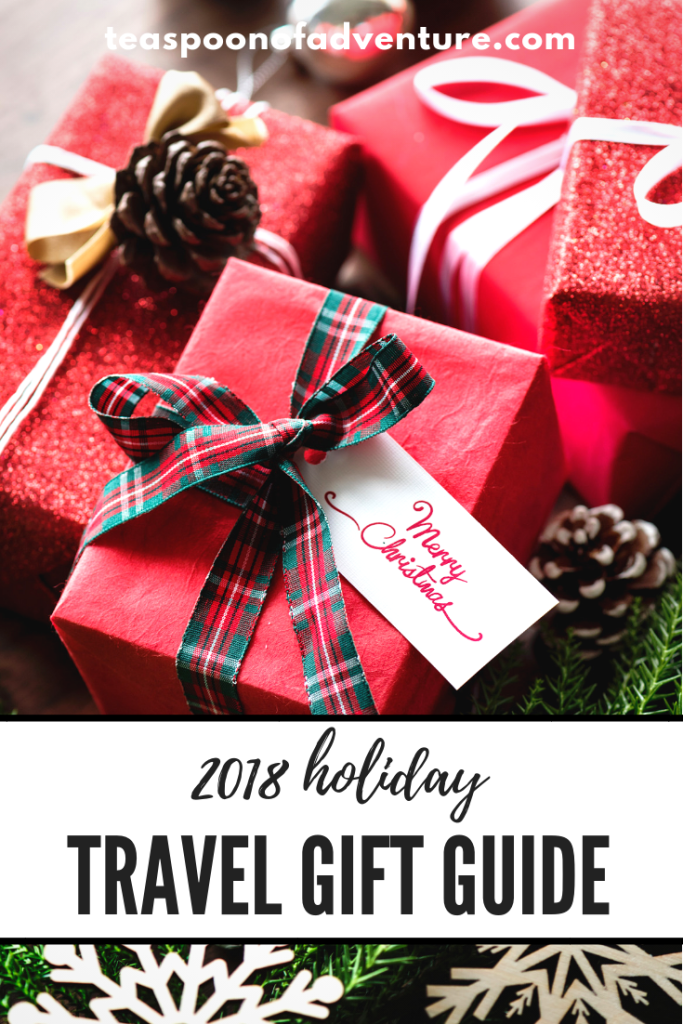 My 2018 Travel Holiday Gift Guide Teaspoon Of Adventure Office Christmas Party Holiday Travel Gifts Christmas Gift Guide
