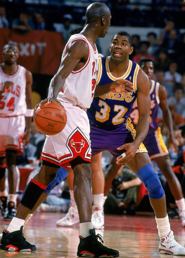 michael jordan lakers 1991