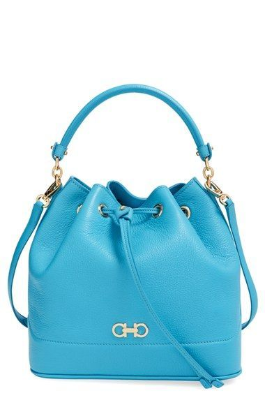 b17962fcb5 Salvatore Ferragamo  Mille  Bucket Bag