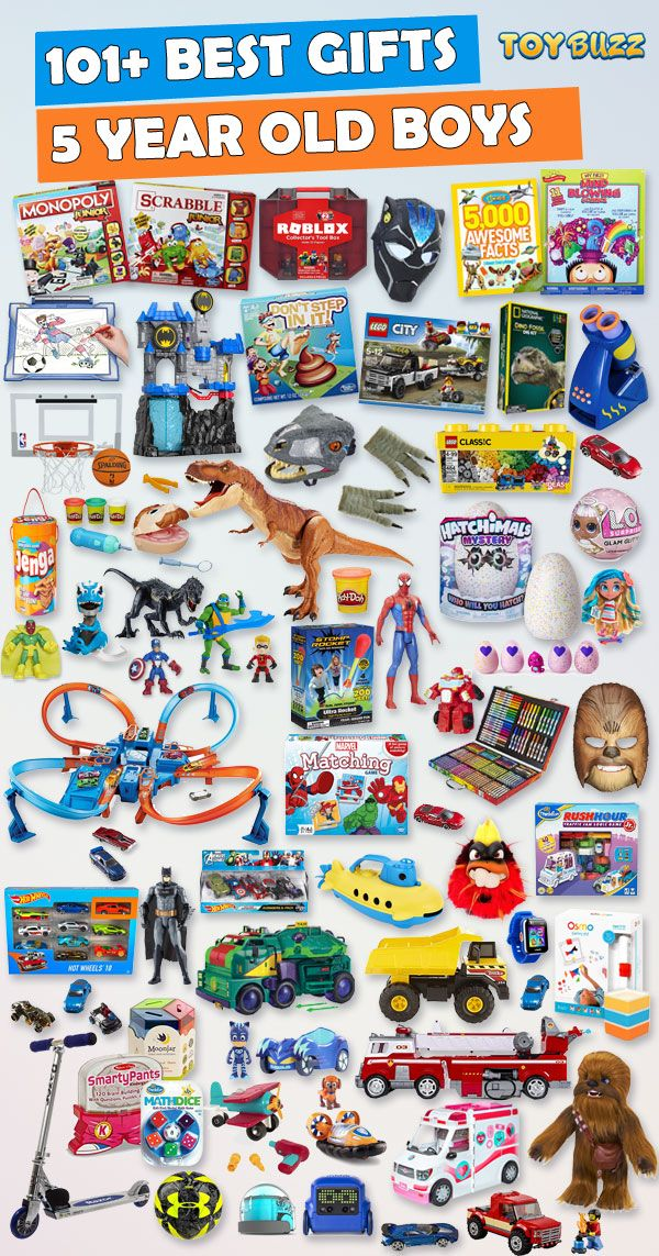 Gifts For 5 Year Old Boys 2019 List of Best Toys