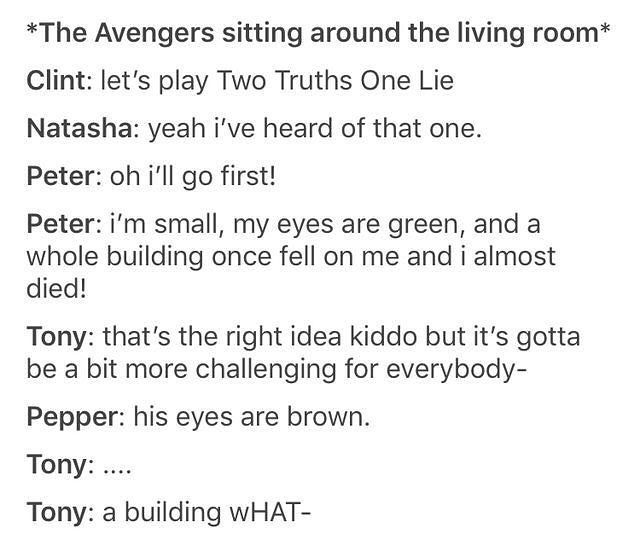 Ahhhh!!!!! <<< Is exactly how Tony would react, he would be so concerned for his son!!! #peterparker