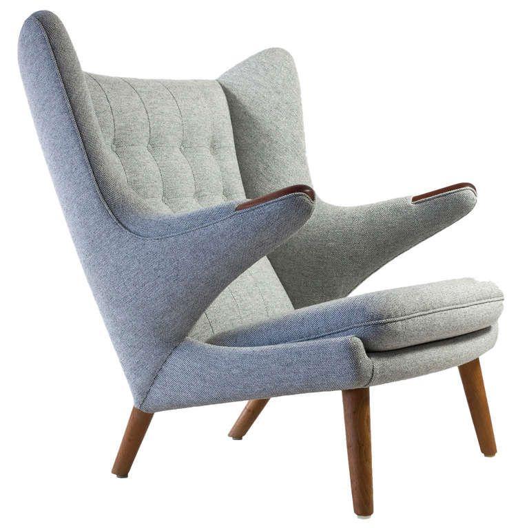 Exceptionnel Hans J. Wegner Papa Bear Chair