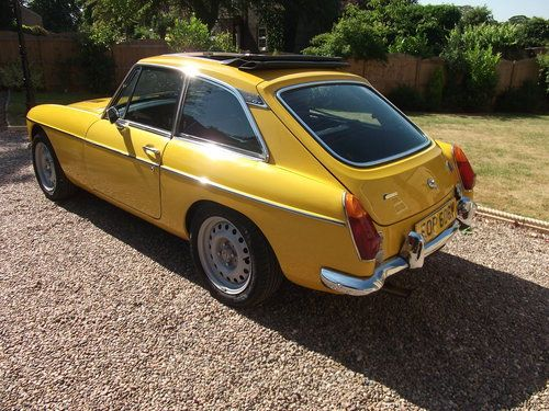 1980 MGB GT SUPERCHARGED WITH I R S  AND COSWORTH L S D  For Sale