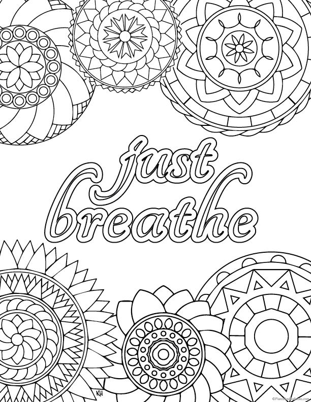 - Stress Relief Coloring Pages To Help You Find Your Zen Again  #adultcoloringpages Have You Been D… Stress Coloring Book, Anti Stress  Coloring Book, Stress Coloring