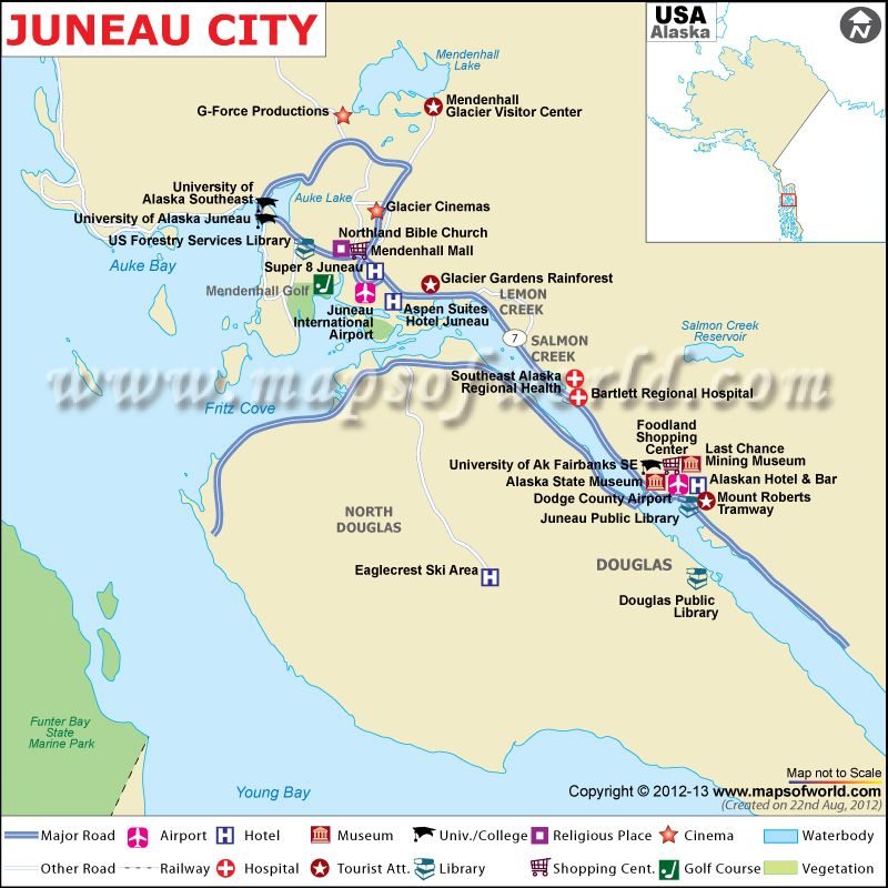Map showing location of all major cities in China – Tourist Attractions Map In Alaska