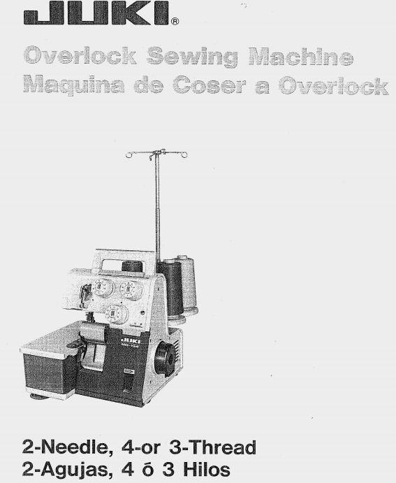 juki mo 134 overlock serger sewing machine manual sewing rh pinterest com juki serger mo-2516 manual juki overlock manual