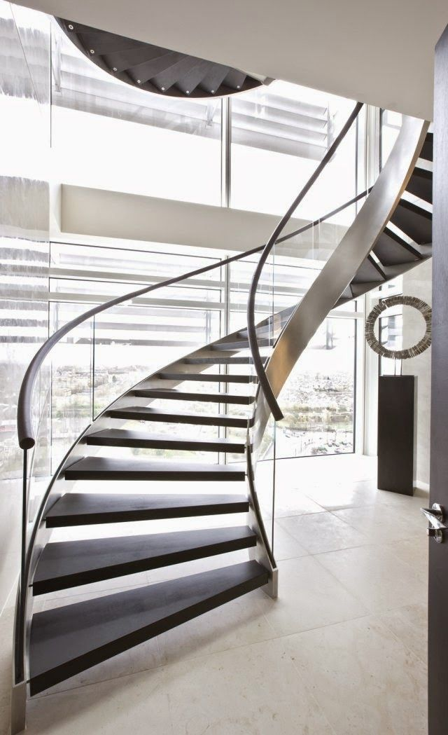 Best Modern Spiral Staircase Elegant Spiral Staircase Design 400 x 300