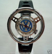VW Volkswagen Beetle Bug Bus Bulli Racing Vintage Design Old England Swiss Watch