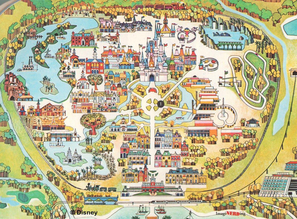 Magic Kingdom Maps Galore For Walt Disney World Map | Theme Park Map ...
