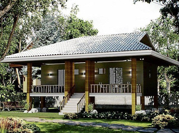 Modern nipa hut modern nipa house design philippines for Modern houses in philippines