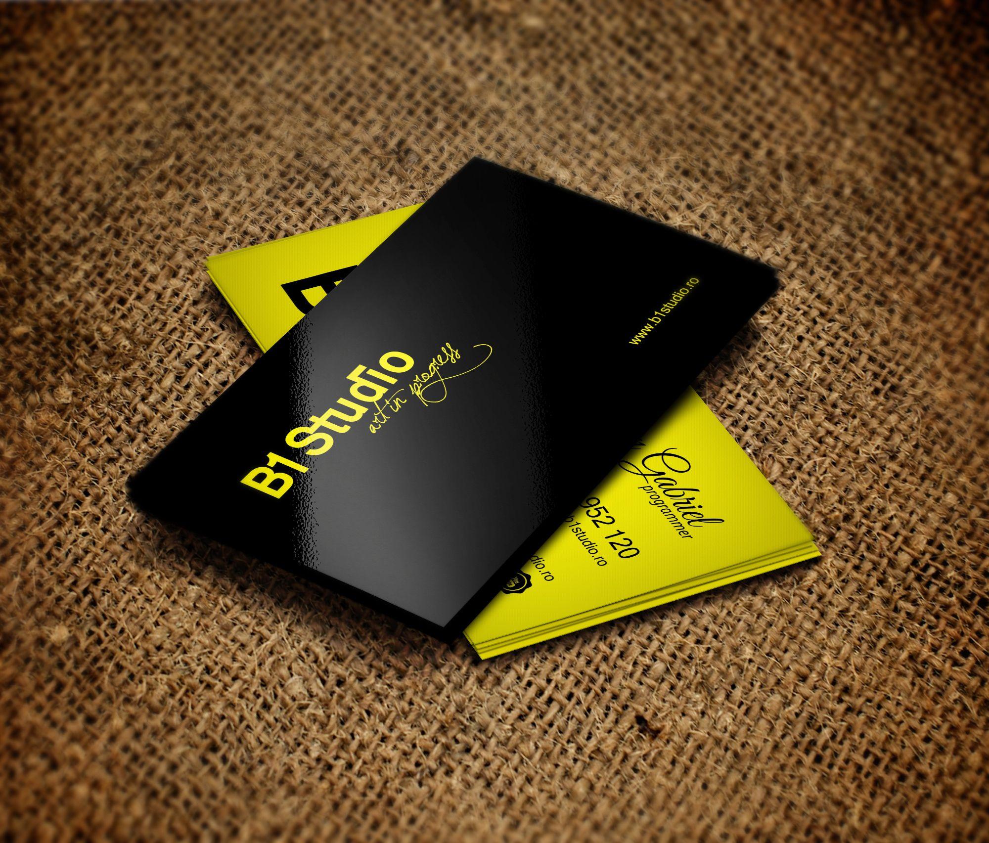 visit card b1 studio jicman gabriel