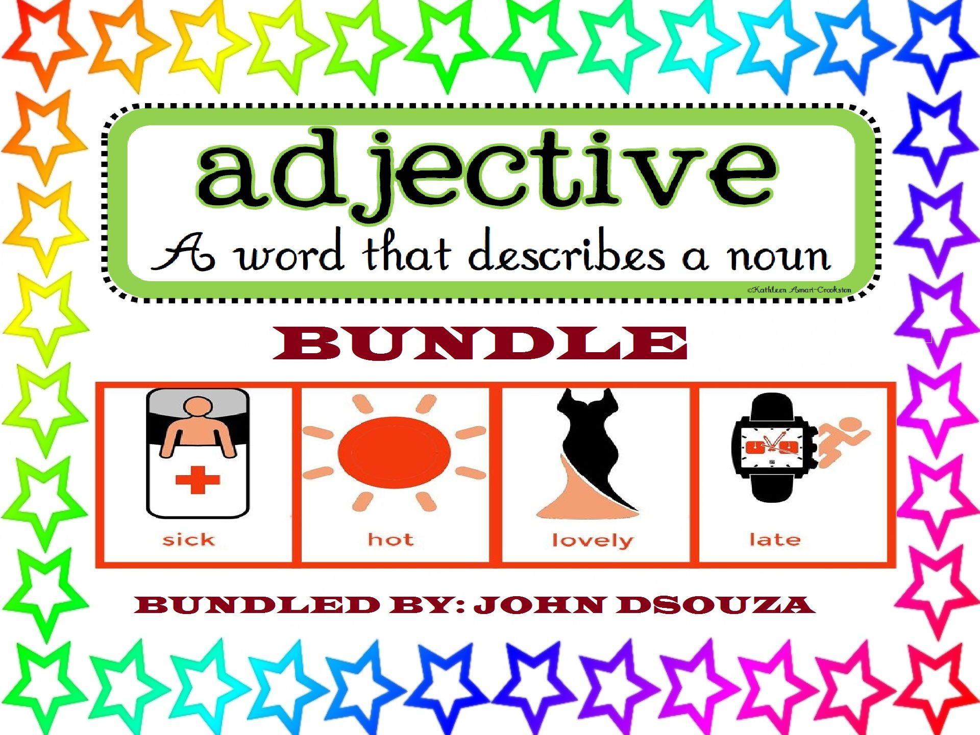 Adjectives To Describe Bundle