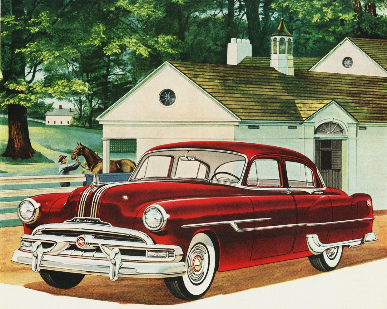 1953 Pontiac Chieftain DeLuxe 4-Door Sedan