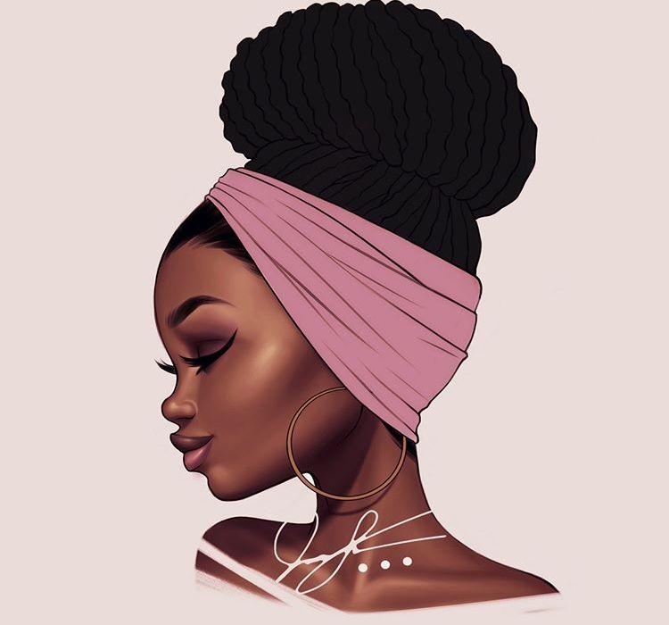 épinglé Par G Dixon Sur Locs Art Black Love Illustration
