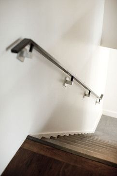 Wall Mounted Railing Design Ideas Pictures Remodel And Decor Railing Design Stairs Design Stair Railing Design