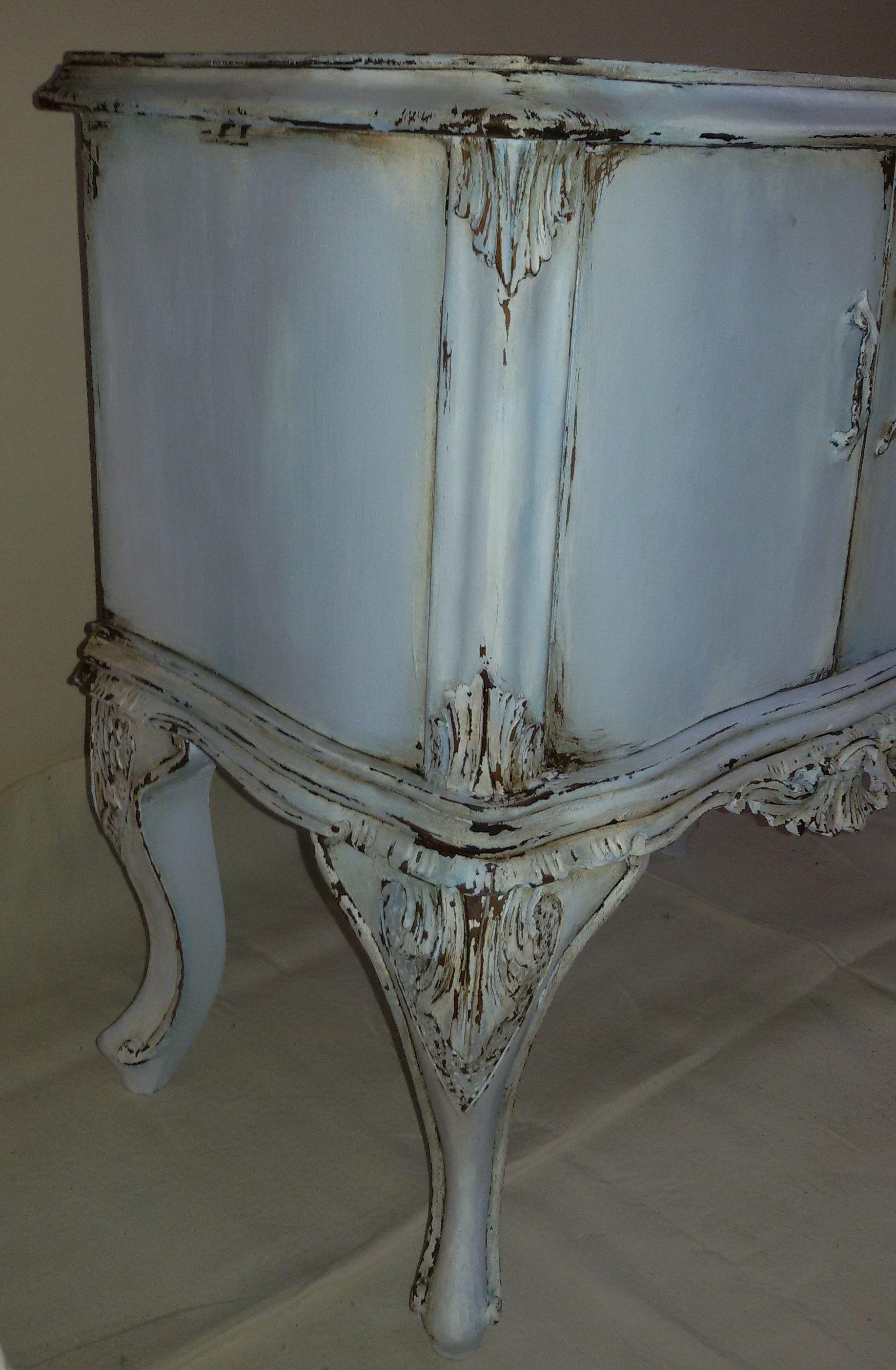 Camera Letto Matrimoniale Stile Chippendale.Comodino Tavolino Bedside Table Table Chippendale Shabby Chic