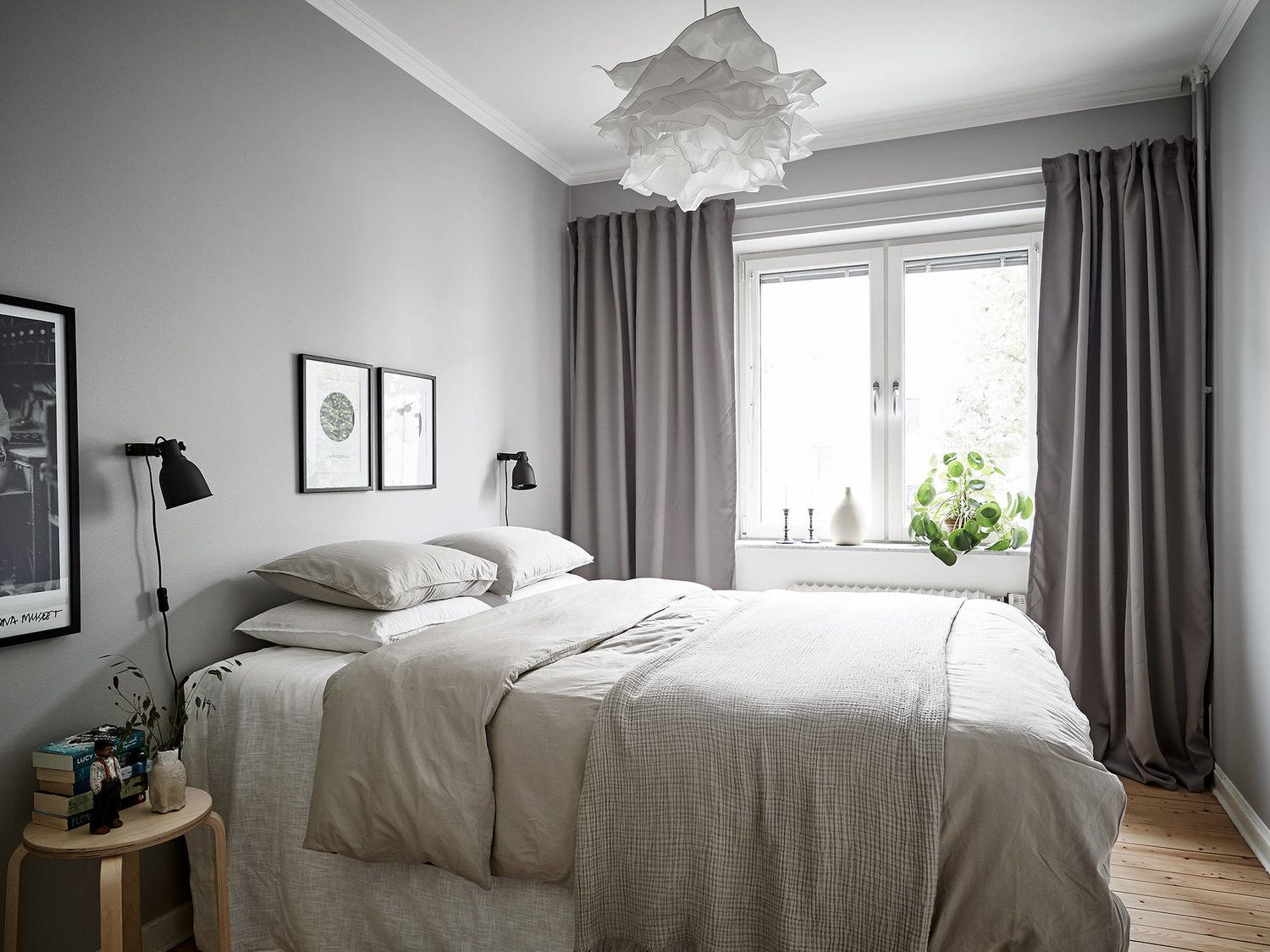 Small Bedroom Light Grey And White Gray Bedroom Walls Light