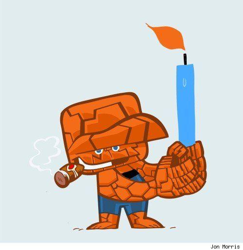 Happy Hanukkah, Thing!