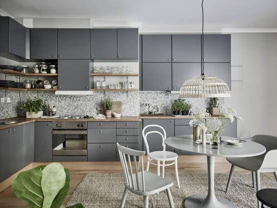Interiores espacios peque os estilo y dise o n rdico for Salones modernos estilo nordico