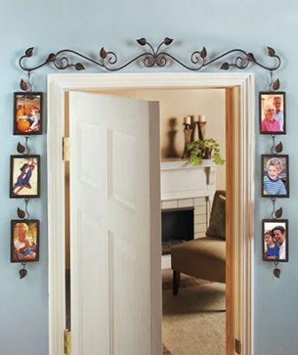 over Door way multi photo 6 picture collage wall frame ...