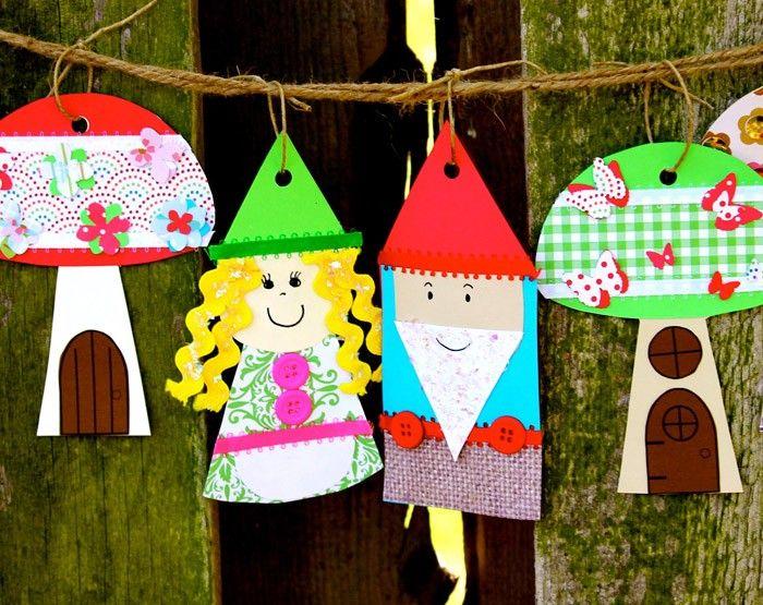 Gartendeko basteln mit kindern  ausgefallene gartendeko selber machen upcycling ideen diy deko ...