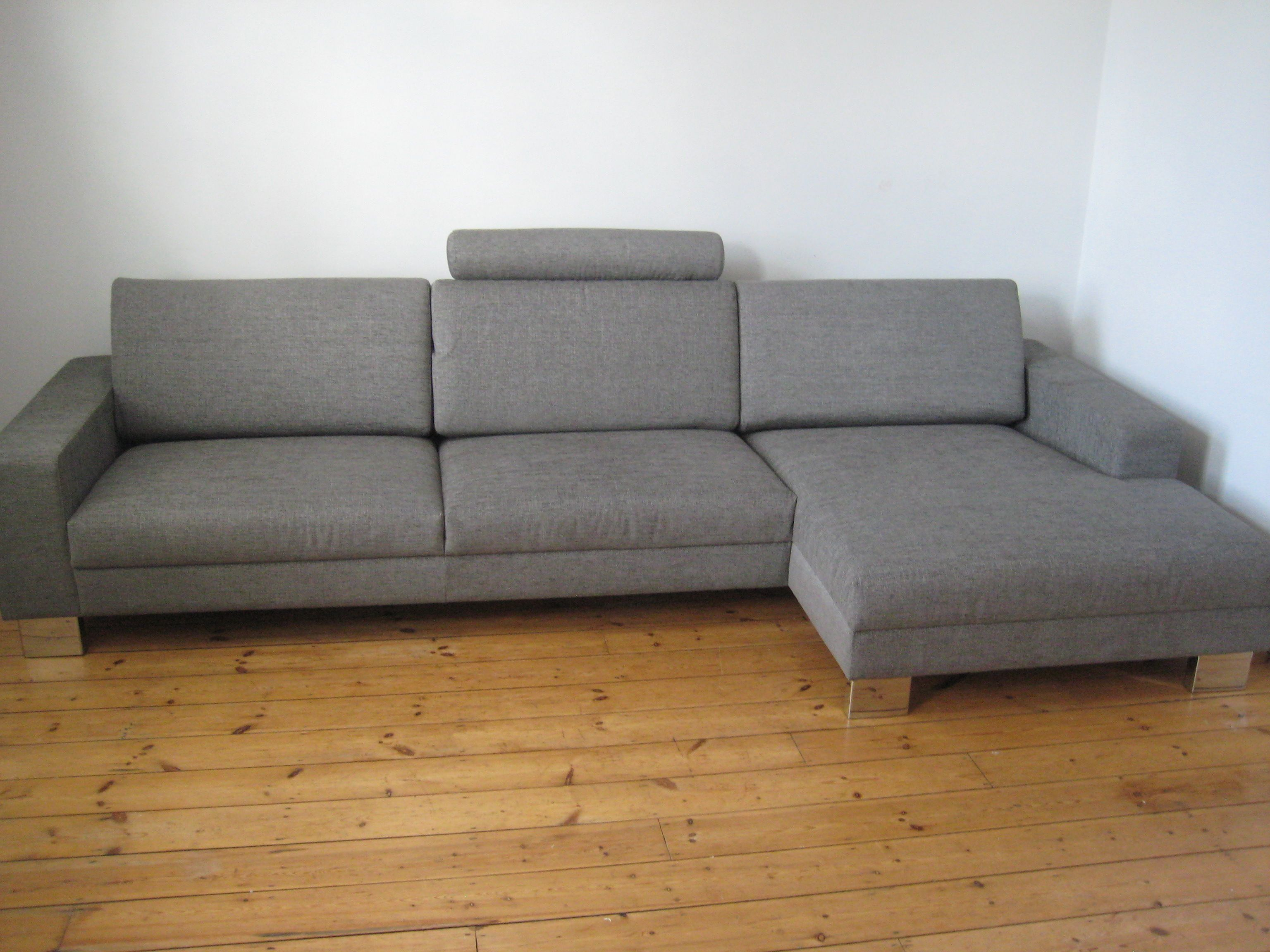 Corylus sofa and right handed chaise sectional seating