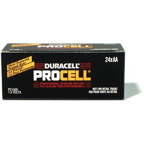Duracell Procell Aa Batteries 24 Count Duracell Household Supplies Household