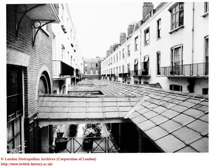 The albany roof of the ropewalk albany london