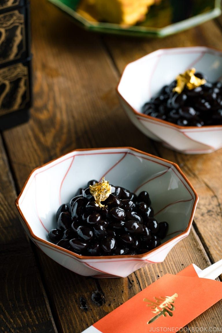 Kuromame (Sweet Black Soybeans) Recipe Food, Easy